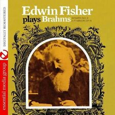 Edwin Fischer Plays Brahms Sonata No. 3 In F Minor - Edwin (2013, CD NIEUW) CD-R