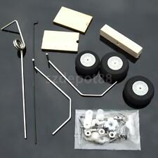 Landing Gear With Sterring Tail Wheel Kit Set RC Airplane Spare Part