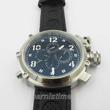 50mm Russian Military Automatic Men Watch 24-Hours Day Month Calendar Indicator