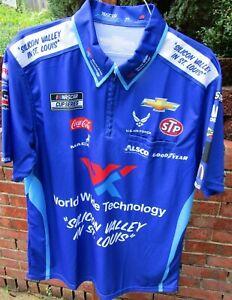 Bubba Wallace WORLD WIDE TECHNOLOGY /Richard Petty Motorsports pit crew shirt-XL