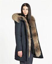 Woolrich W's Luxury Boulder Coat Taglia XL Wwcps2654 Cf40 Blu