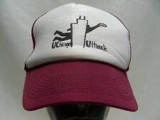 UCHICAGO ULTIMATE - ONE SIZE - ADJUSTABLE SNAPBACK BALL CAP HAT!