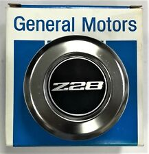 GM NOS 1979 1981 CAMARO Z28 CENTER HUB CAP FOR 5 SPOKE STEEL WHEEL EACH 14009872