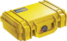 New Pelican Yellow 1170 Case with Foam includes FREE Engraved Nameplate