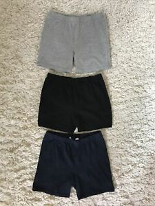 NWT JUSTICE Charcoal Gray w// White Dolphin Active Shorts Size 10