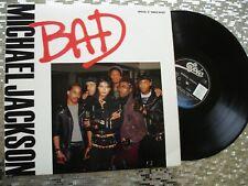 "Michael Jackson – ""Bad""   Limited Edition EP/LP  Maxi Single  Epic – 49 07462"
