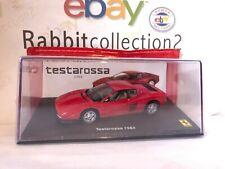 """Die Cast """" Testarossa - 1984 """" Ferrari Gt Collection Scale 1/43"""