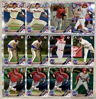2019 BOWMAN BEST CHROME 12x PHILLIES HARPER VIERLING GARCIA MILLER SCHULTZ BOHM