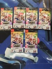 Mario Sports Superstars Amiibo Cards. Rare No Longer In Print. 6 packs
