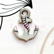 20pc Antique Bronze Boat Anchor Pendant Charms Beads DIY Jewelry Making 150AF
