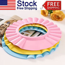 Adjustable Babys Toddler Kids Bath Shower Shampoo Cap Bath Hair Shield Visor Hat