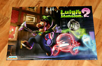 Luigi's Mansion 2 Dark Moon / Lego City Undercover Rare Poster Nintendo 3DS