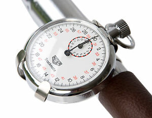 Vintage Retro Style NOS Time Trial Stopwatch, Pocket Watch Bicycle Clip L'Eroica