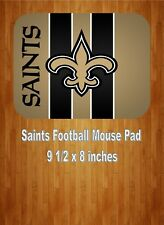 New Orleans Saints NFL Football Team Mouse Pad Home Or Office