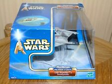 Micro Machines Star Wars Action Fleet Luke Skywalker's Snowspeeder mit US Box