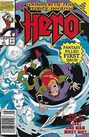 Hero Comic 1 Copper Age First Print 1990 David Michelinie Purcell Portacio