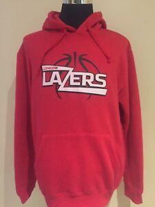 Basketball NSW Waratah League Lithgow Lazers LGE Printed Supporters Hoodie