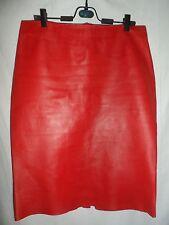 DOLCE&GABBANA Leather pencil skirt size USA 12 EU-42