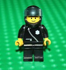 Lego Vintage Police Minifig Policier+casque Noir ref cop027 set 1895 Sky Patrol