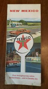 1960 Texaco New Mexico Fold Out Road Map Classic Car Cover