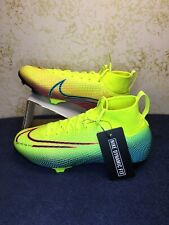 NIKE MERCURIAL JR SUPERFLY 7 ELITE MDS FG BQ5420 703 YELLOW-GREEN Sz 4Y Wmns 5.5