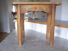 1930 CORONADO Monterey Hand Painted Bench Chair Stool