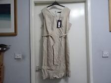 M&S COLLECTION FLAX STRETCH LINEN PART OF SUIT CORE DRESS SIZE UJ 20 RRP-£45