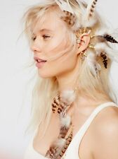 Free People Born to be Wild Feather Ear Cuff