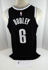 2018-19 Brooklyn Nets Jared Dudley #6 Game Used Black Jersey vs TOR 5 pts 554