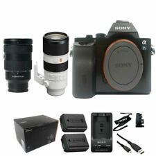 Sony A7S DSLR Camera with 24-70mm GM and 70-200mm GM lens