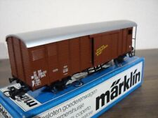 Märklin 4698 Gedeckter Güterwagen mit Bremserhaus              SBB