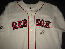Yoan Moncada Signed/Auto Boston Red Sox Majestic Jersey CUBA $30 Million Proof