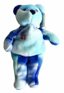 Salvino's Bammers Sammy Sosa #21 Opening Day Baseball 8 Inch Plush Stuffed Bear