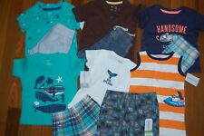NWT Boys 6m 6 MONTHS Spring Summer 11 Piece Lot CARTER'S JUMPING BEANS