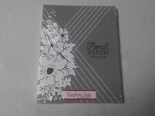PAPERTREY INK FLORAL SKETCHES COLORING SHEETS  4.25X5.5 18 PCS A4039
