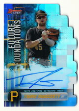 TRAVIS SWAGGERTY 2019 BOWMAN'S BEST FUTURE FOUNDATIONS AUTO #061/100 PIRATES