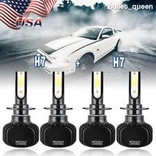 4x H7 + H7 LED Headlight Kit for BMW 100 Series M3 M5 X1 X3 X5 Z4 High Low Beam