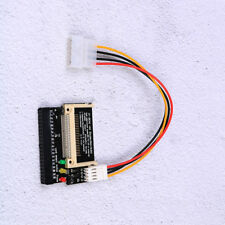 Dual compact flash cf I/II to 3.5 IDE hdd adapter 3 led WH