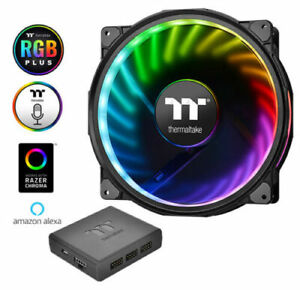ThermalTake Riing Plus 20 RGB TT Premium Edition 20cm 200mm RGB PC Case Fan