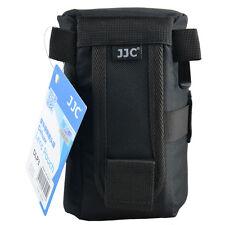 JJC DLP3 M1 Weather-resistant Nylon Deluxe Case Pouch for DSLR Lens Below 160mm
