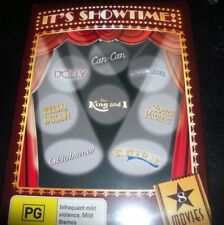 It's Showtime 8 DVD (Dolly The Kin & I Carousel South Pacific Hello Dolly State
