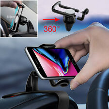 360° Universal Car HUD Dashboard Mount Holder Stand Cradle For Mobile Phone GPS