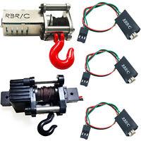 Metallwinde 3-Kanal Wireless Fernbedienung für 1/16 WPL C34 1/12 MN RC Auto Car