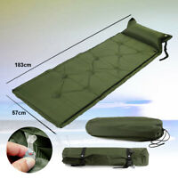 Camping Outdoor Inflatable Self Inflating Single Air Bed Mattress Sleeping Mat