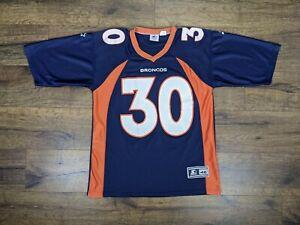 Vintage Starter Denver Broncos Terrell Davis Jersey Size Medium