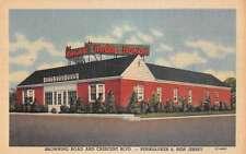 Holly House Restaurant in Pennsauken New Jersey L2473 Antique Postcard