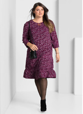 Sheego Berry Printed Tunic Dress Plus Size 20 NEW