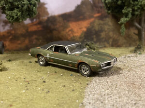 1968 Pontiac Firebird Rusty Weathered Barn Find Custom 1/64 Diecast Car Rust M2