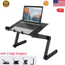 Adjustable Foldable Laptop Notebook Desk Pc Table Stand Holder Bed Sofa Tray New