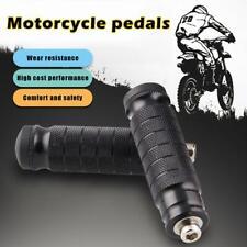 2x 8MM Motorcycle Motorbike Universal Rear Foot Pegs Footpegs Rear Set Pedals